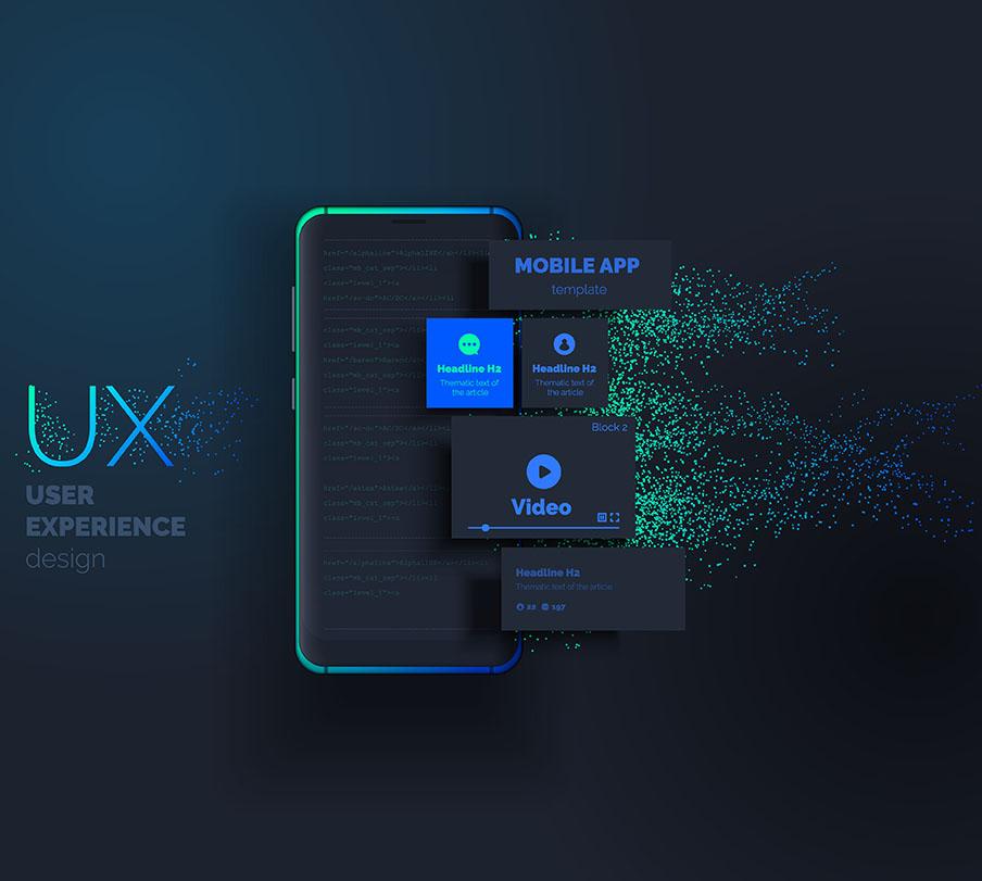 ux design mobile phone